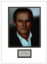 John Grisham Autograph Signed Display